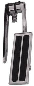 Gas Pedal, Chrome Steel Arm & Polished Aluminum Pad With 2 Rubber Inserts Photo Main