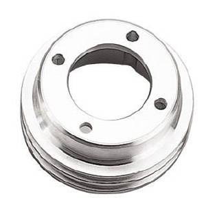 Crank Shaft Pulley, Billet Aluminum, Oldsmobile -Double Groove Pulley Photo Main