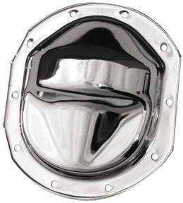 "Chrome Ford 7.5"" Ring Gear Differential Cover - 10 Bolt (Includes Gasket & Hardware) Photo Main"