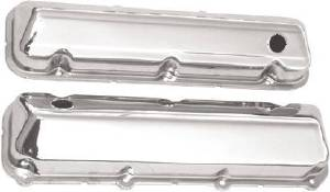 Chrome 1968-Up Big Block Ford 429-460 V8 Valve Cover - Baffled (Includes Grommets) Photo Main