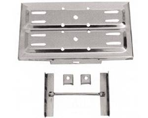 Battery Tray Stainless Steel (Includes Hold Downs) Photo Main