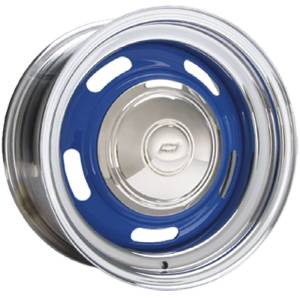 "Wheel -Custom Rally Chrome Rim, Bare Center. Available In 14"", 15"" Or 16"" Photo Main"