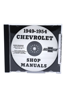 Chevrolet Shop Manual - 49-54 Car On CD Photo Main
