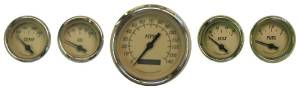 Instrument Gauges. Tan 5 Gauge Electronic Speedo Photo Main