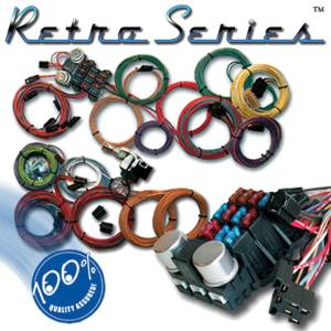 Retro Series Wiring System For Ford Engines - 12 Volt - Ron Francis. Photo Main