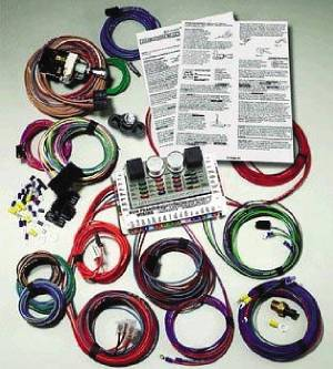 Gm Powered Express Wiring Complete Wiring System - Ron Francis. Photo Main