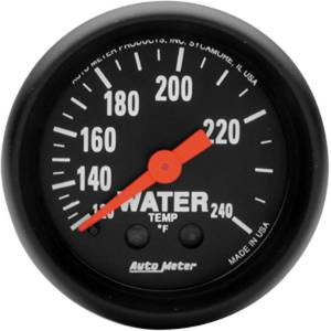 "Instrument Gauges - Auto Meter Z Series 2-1/16"" Temp Gauge. Mechanical 120-240 Deg., Full Sweep Photo Main"