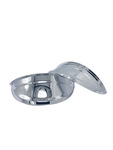 "Parts -  Headlight Visor -7"" Chrome Plated Covers Top Of The Headlight"