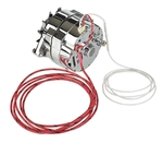 "Parts -  Alternator - 12v,Chrome Internally Regulated 1-Wire With 5/8"" Pulley"