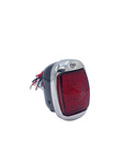 Chevrolet Parts -  Led Tail Light Assembly. Left Side With Led License Light And Black Housing 12 Volt