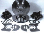 "Parts -  Brake Disc Conversion Rear -Ford 8"" & 9"",  (Large Housing & Flange) 4-1/2"" Bolt Circle."