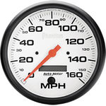 "Parts -  Instrument Gauges - Auto Meter Phantom Series 5"" 0-160 Mph Electronic/ Programmable Speedometer"