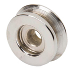"Parts -  Powergen Pulley, 3/8"" Belt Single Groove Chrome"